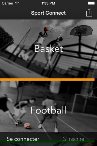 Sport Connect screenshot 1