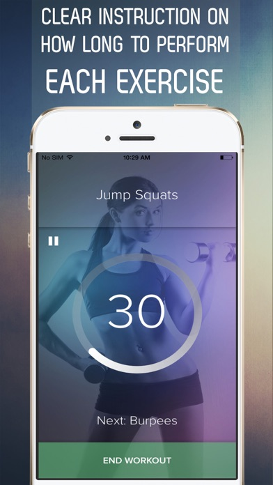 download 7 Minute Circuit Training Workout: At Home Cardio, Weights, and Bodyweight Exercises apps 4