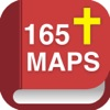 165 Bible Maps with 72 Bibles, Commentaries and Study Tools