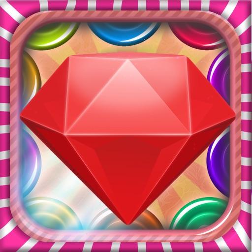 Gem Blast Bump-The Best Jewel Match 3 Game for Kids and Girls iOS App