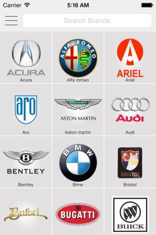 Car Specs Pro screenshot 1