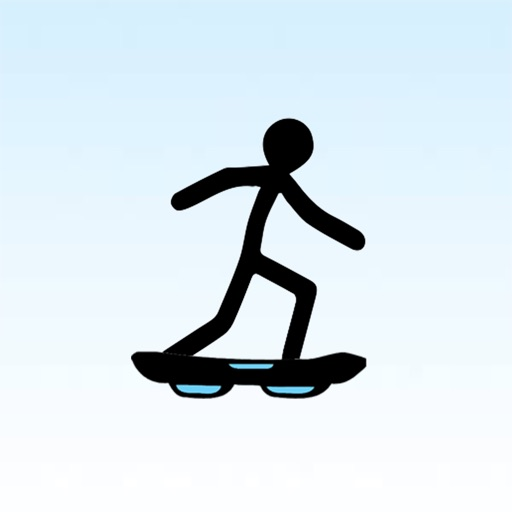 Stickman Joe: Sky Surfer iOS App