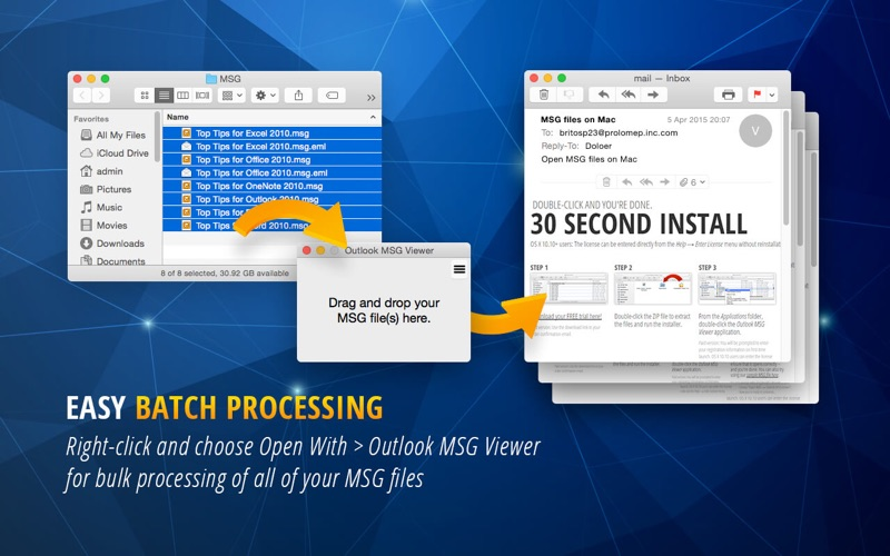 MSG Viewer for Outlook for Mac