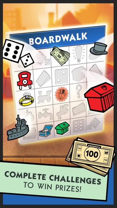 Screenshots of Boardwalk Bingo: A MONOPOLY Adventure for iPhone