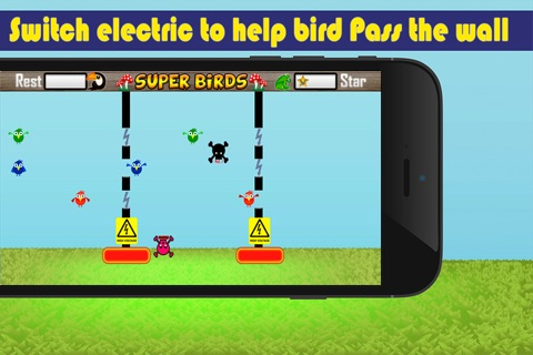 Super Birds Adventures - Birdy Crossing Block screenshot 4