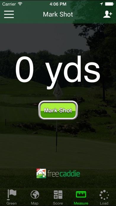 Golf GPS - FreeCaddie Pro screenshot one
