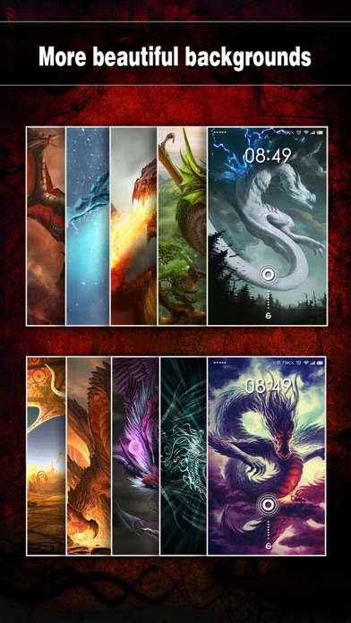 download Dragon Wallpapers, Backgrounds & Themes Pro - Lock Screen Maker with Cool HD Dragon Pics apps 0