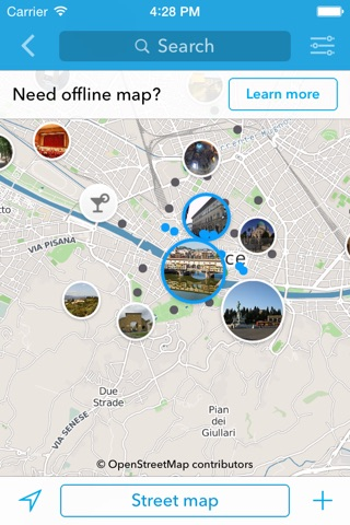Florence Trip Planner, Travel Guide & Offline City Map screenshot 2