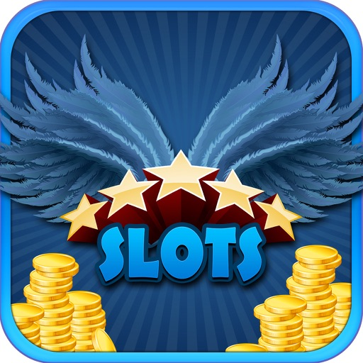 Lucky Feather Slots Pro ! -Eagle Falls Indian Style Casino- Take a break! Icon