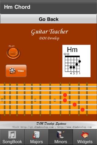 GuitarTeacher screenshot 1