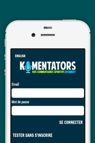Komentators screenshot 1