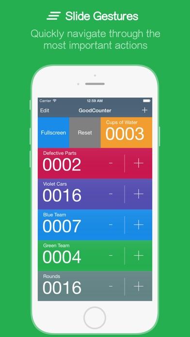 GoodCounter – A Pretty Good Tally Counter Screenshot