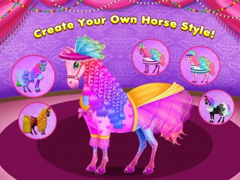 Скачать My Lovely Horse Care – Makeup, Dress Up and Hairstyle