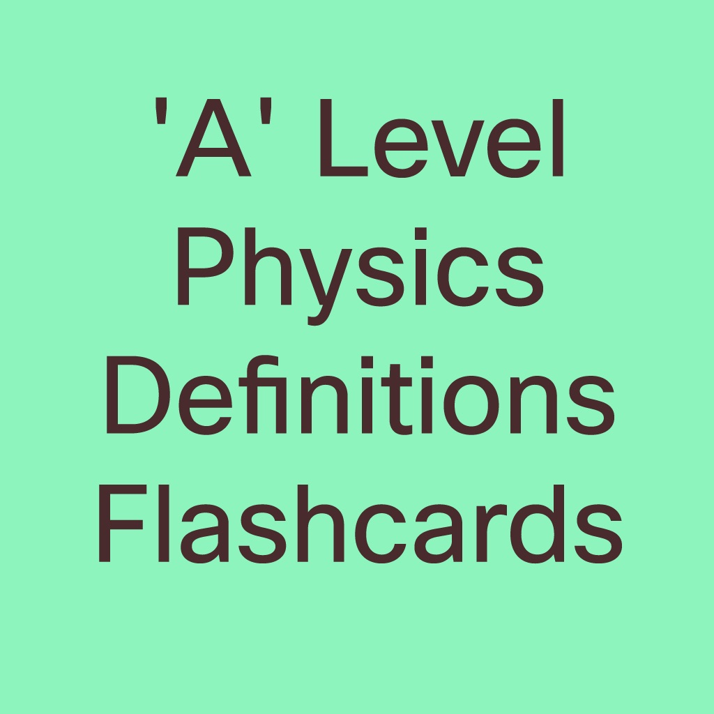 as level physics definition