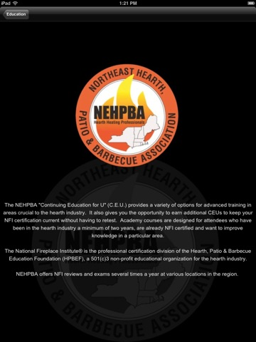 Northeast Hearth, Patio and Barbecue Association HD on the App Store