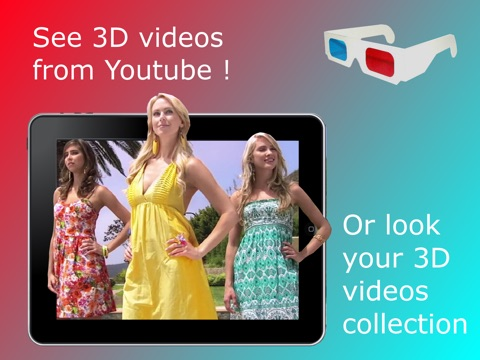 3DTube - Youtube 3D video player Screenshots