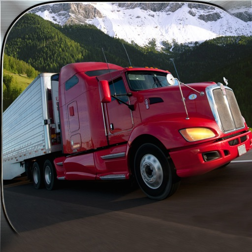 Semi Truck Down Hill Crazy Driver 3D Simulator iOS App