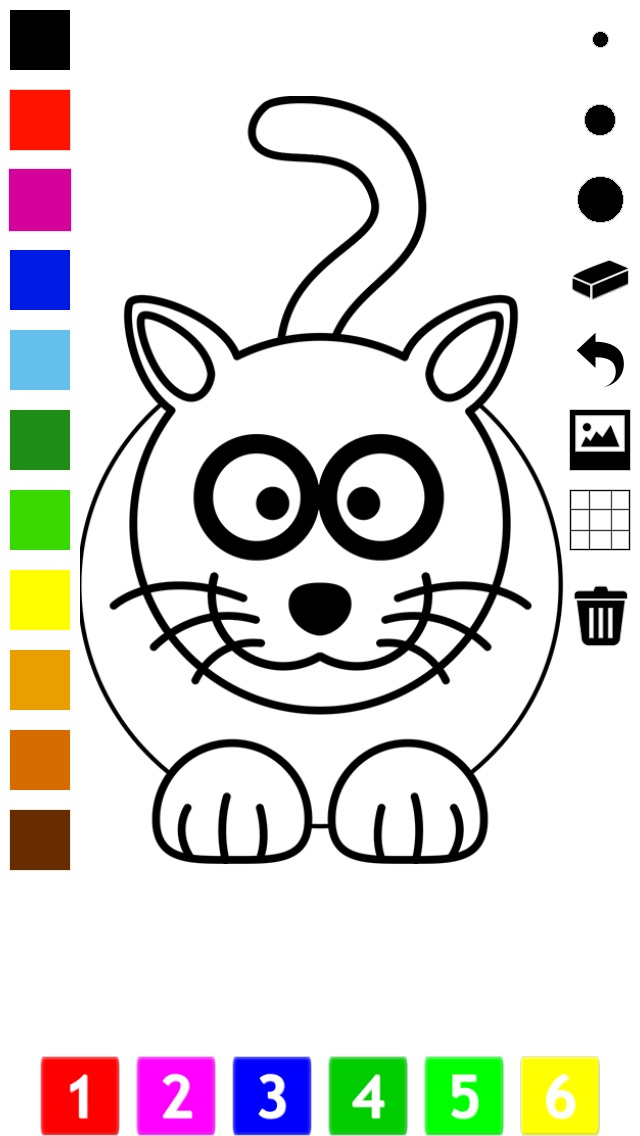 download A Coloring Book for Little Children: Learn to draw and color cat and kittens apps 0