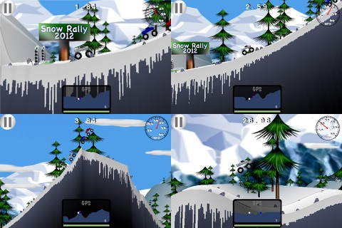Snow Rally 2012 - Free screenshot 3