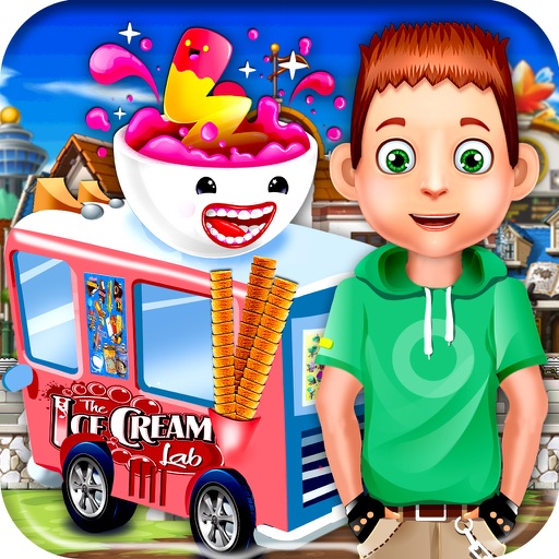 Frozen Delight IceCream truck delivery at School iOS App