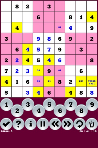 Addictive-Sudoku screenshot 1