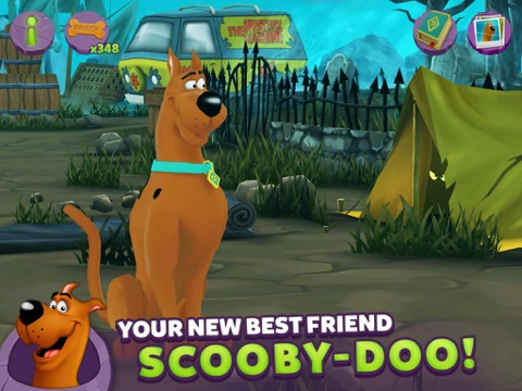 Screenshot of My Friend Scooby-Doo!