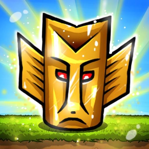 ... big head nofeet Marionette slapshot stars iOS App Tiny Totem Tap-  Aztec 14581def0213c
