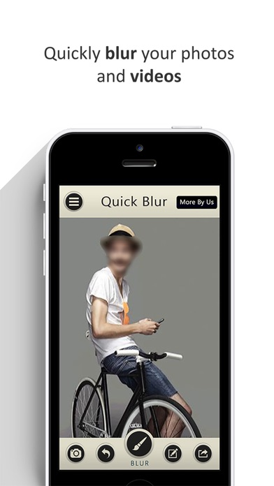 Video Blurrer- Blurry portrait, Unblur After on the App Store