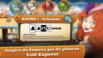 Screenshot Colt Express