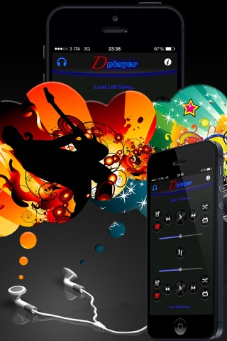 Double Player for Music with Headphones Pro screenshot 4