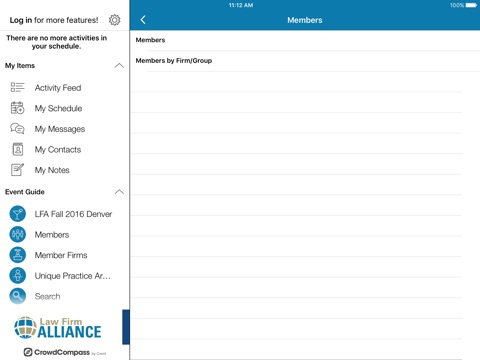 Screenshot of Law Firm Alliance