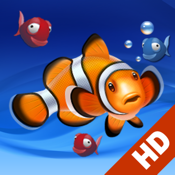 Aquarium live HD free: Coral reef scenes with relaxing nature & ocean sounds for stress relief icon