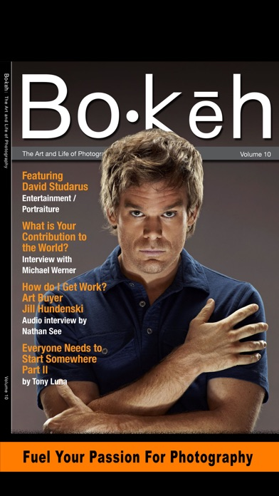 Bokeh Digital Photography Magazine Business Tips review screenshots