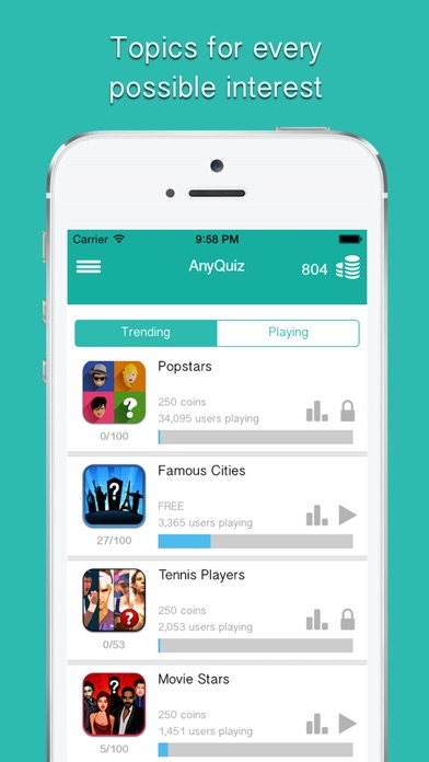 download AnyQuiz™ - General Knowledge Trivia Questions apps 1