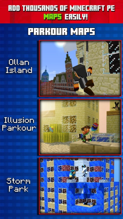Parkour Maps for Minecraft PE ( Pocket Edition ) by Vadim Vasiliev