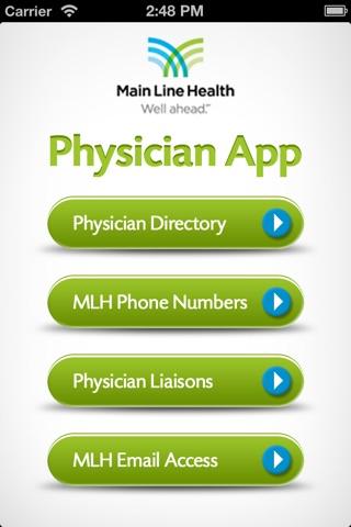 MLH Physician screenshot 1