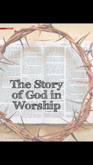 Worship Leader Magazine review screenshots