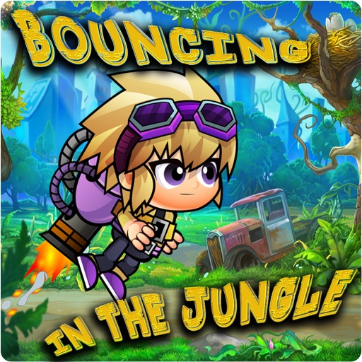 Bouncing in the jungle iOS App