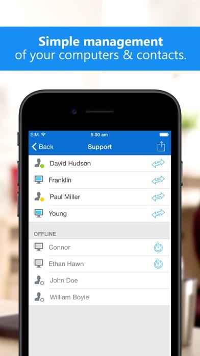TeamViewer: Remote Control Screenshots