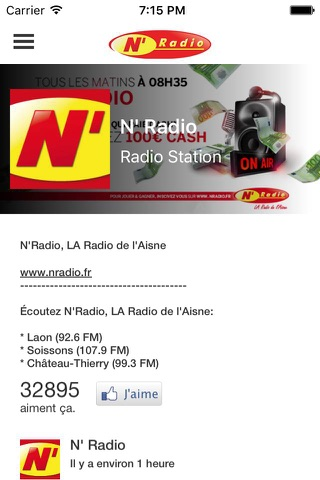 La radio de l'Aisne - N' radio (Aisne radio) screenshot 2