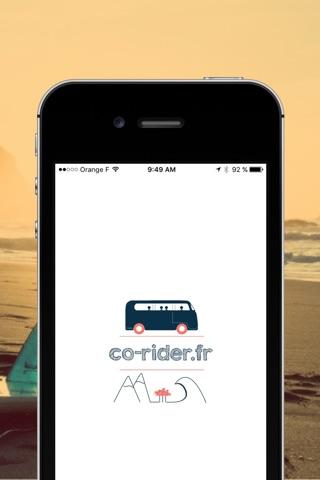 Co-rider — Covoiturage pour les sports de glisse screenshot 4