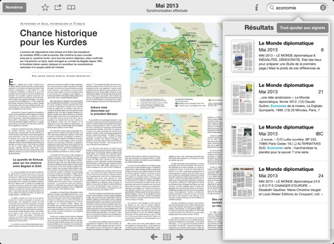 Capture d'écran iPad 4
