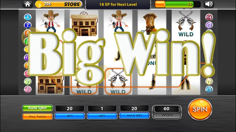 Wild West House Of Fun Slot Machine By Michelle Kong