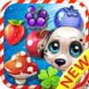 Jungle Juice clash -The Pups hero on garden puzzle crush fight fruits