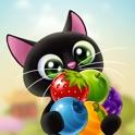Fruity Cat - bubble shooter
