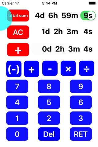 TimeDeCalc screenshot 1