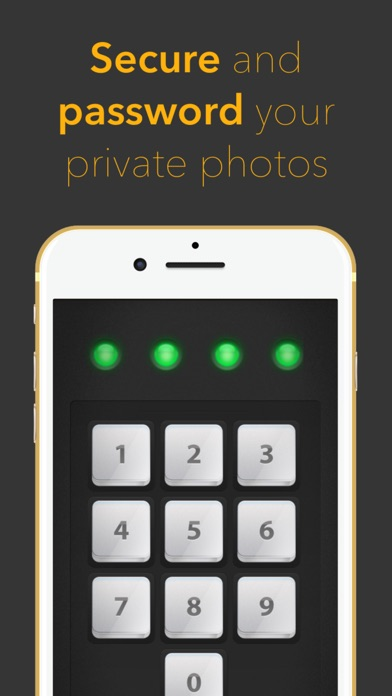 Picture Safe (HiDef) -No#1 Privacy App. Screenshot 1