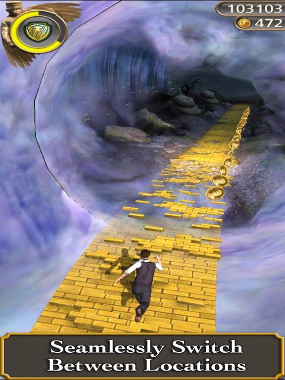 Screenshots of Temple Run: Oz for iPad