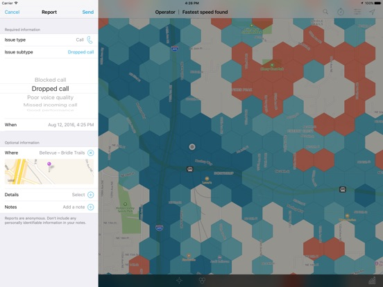 Cell Phone Coverage Map On The App Store - Us cell phone coverage map 2010