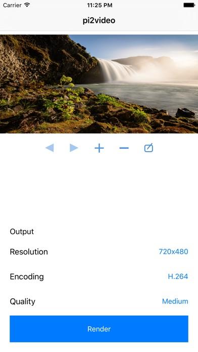 pi2video Screenshots